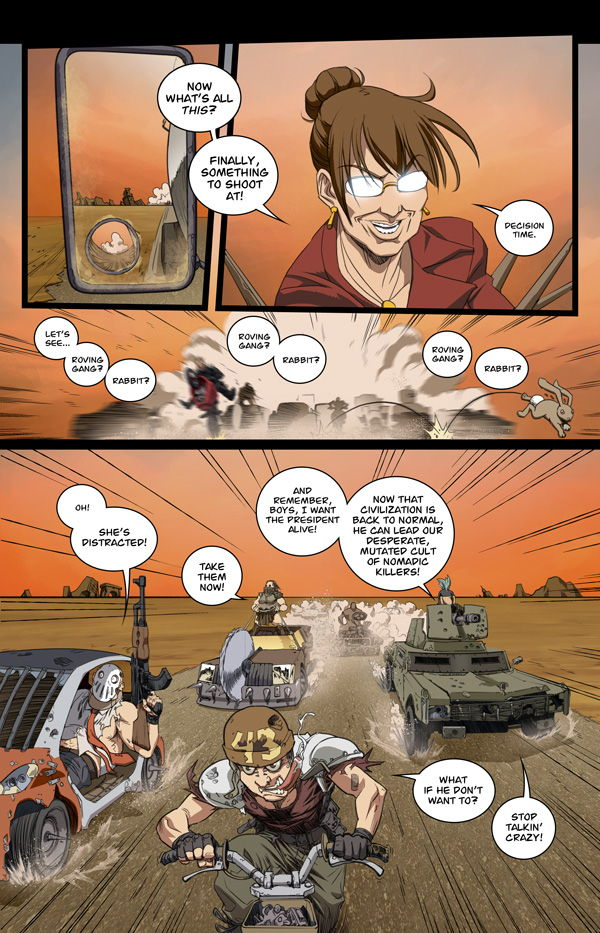 presevil4p4 Preview for President Evil #4: Yes We Cannibal