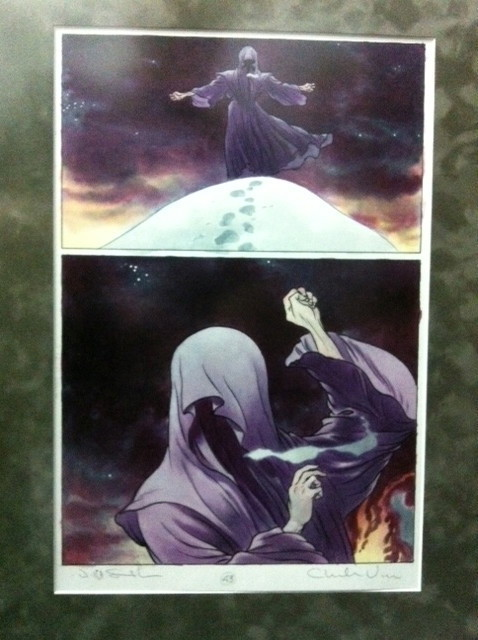 Charles Vess Jeff Smith CBLDF Rose Page