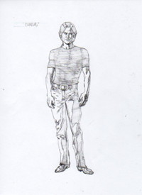 "Todd Herman's ""Charles Cornick"" Character Design"