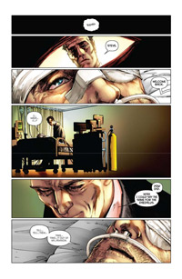 Bionic Man #3 Page 1