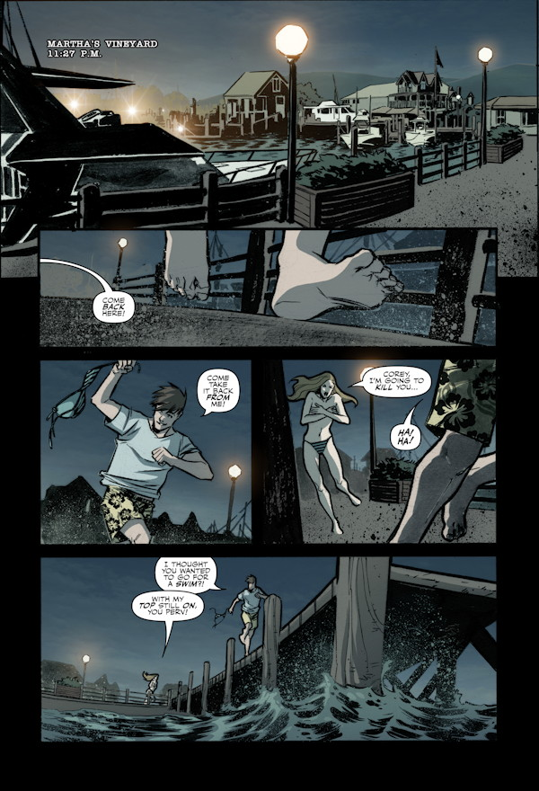 X-Files Season 10 #6 Preview Page 1