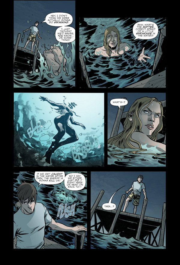 X-Files Season 10 #6 Preview Page #3