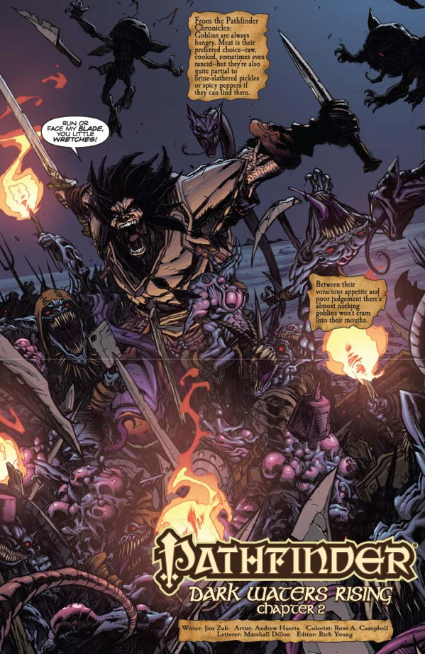 Pathfinder #2 Preview Page #1