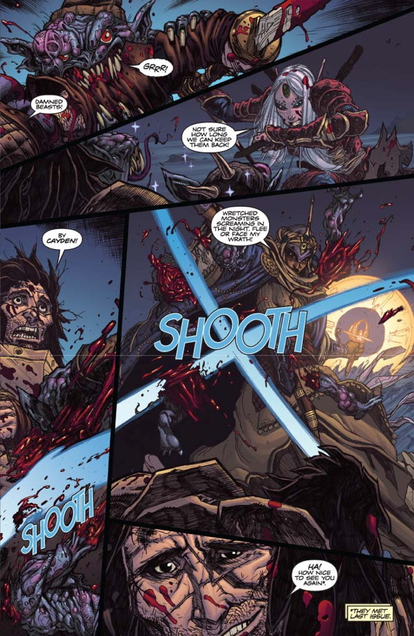 Pathfinder #2 Preview Page #5