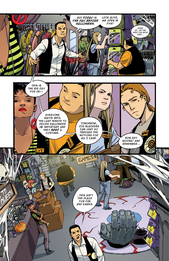 Halloween Eve Preview Page 4