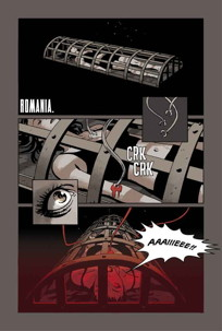 Dracula World Order Preview Page: Tonci Zonjic