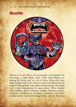 The Supervillain Handbook Preview Page 5