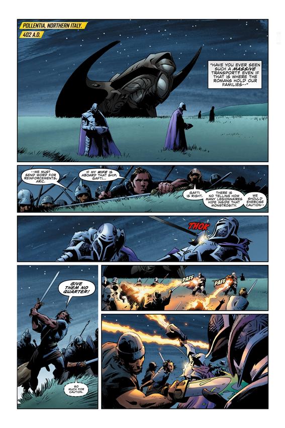 X-O Manowar #1 Page 1