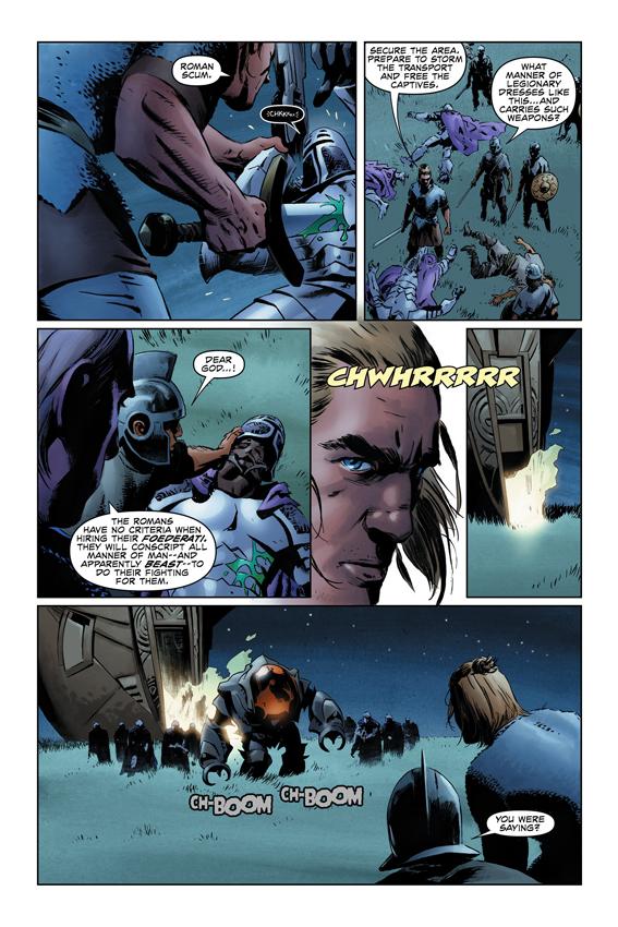 X-O Manowar #1 Page 2