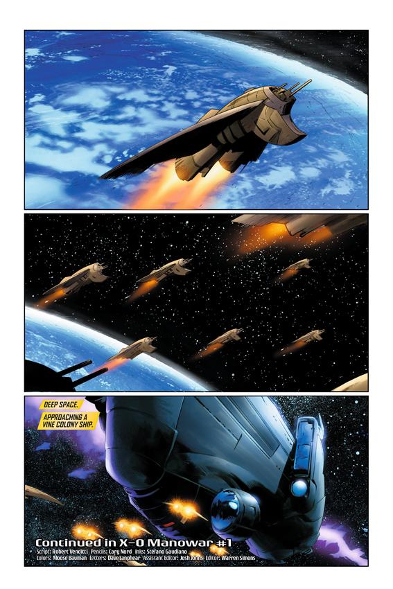 X-O Manowar #1 Page 6