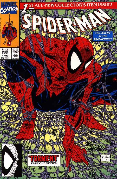 Todd McFarlane Spider-Man #1