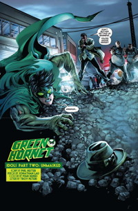 Green Hornet #12 Page 4