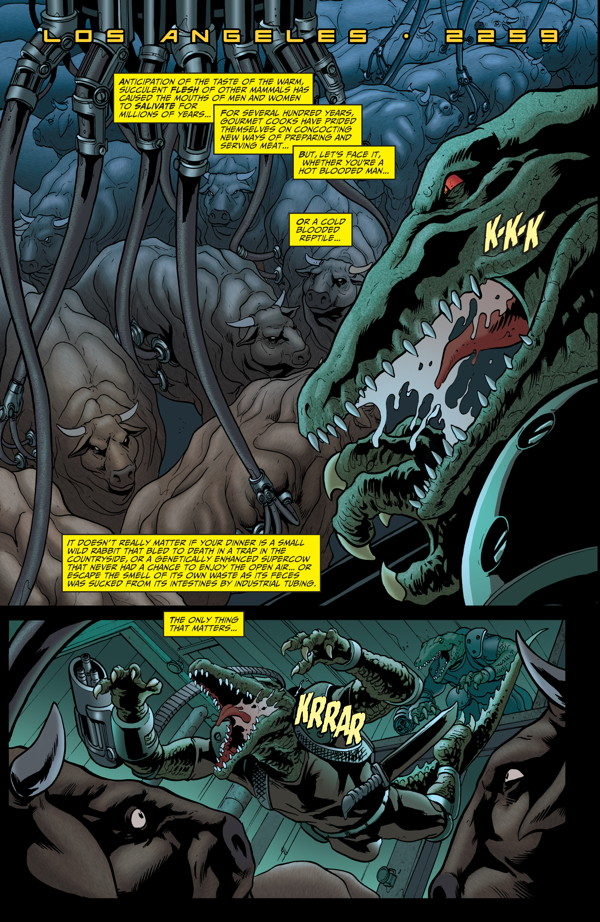 Elephantmen #27 Preview Page 2