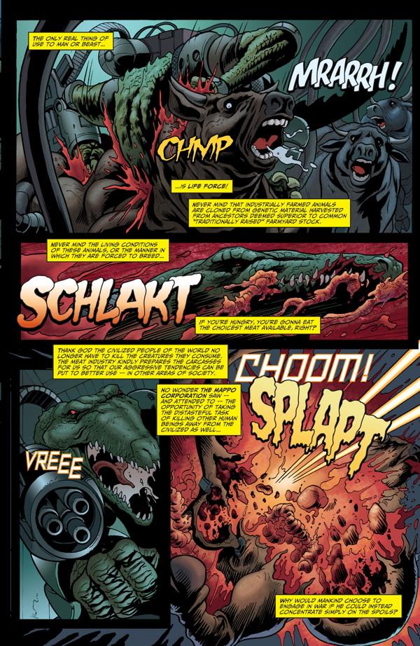 Elephantmen #27 Preview Page 3