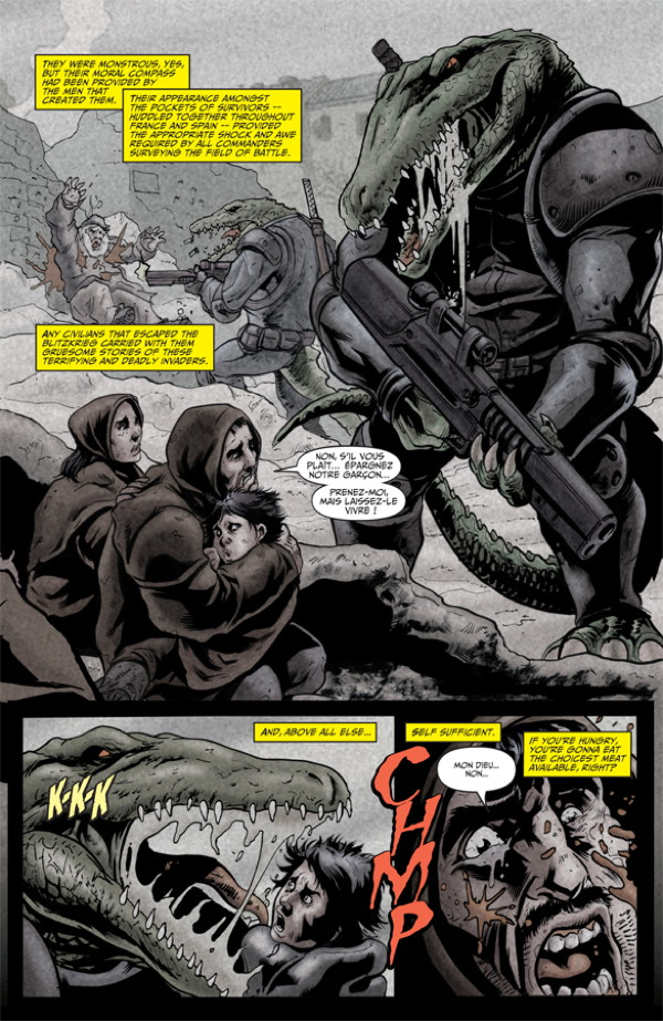 Elephantmen #27 Preview Page 5