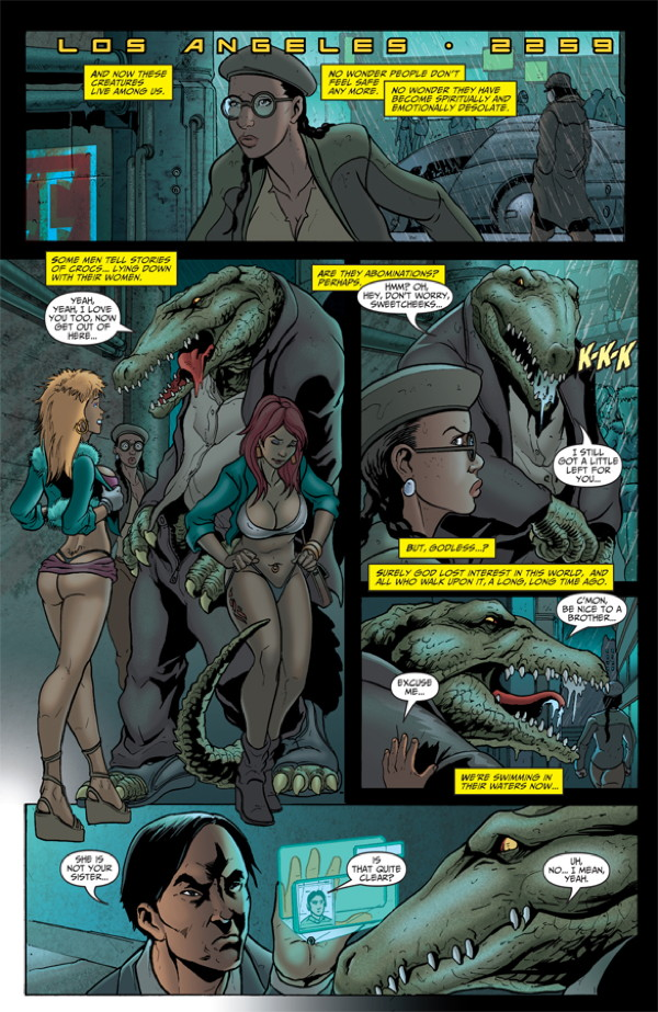 Elephantmen #27 Preview Page 6