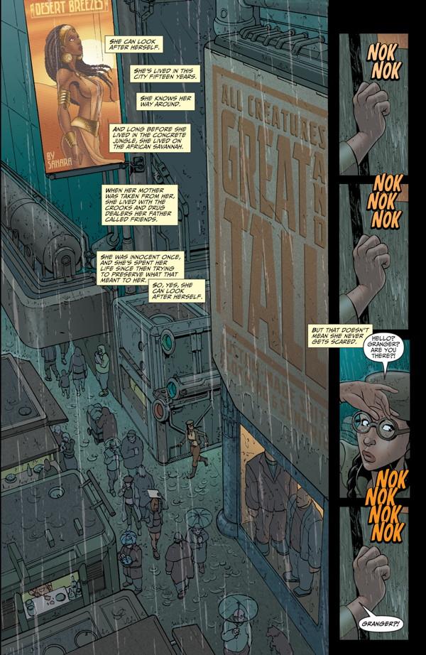 Elephantmen #27 Preview Page 7