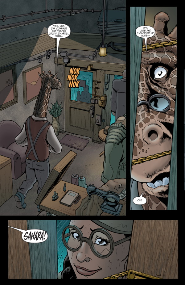 Elephantmen #27 Preview Page 8