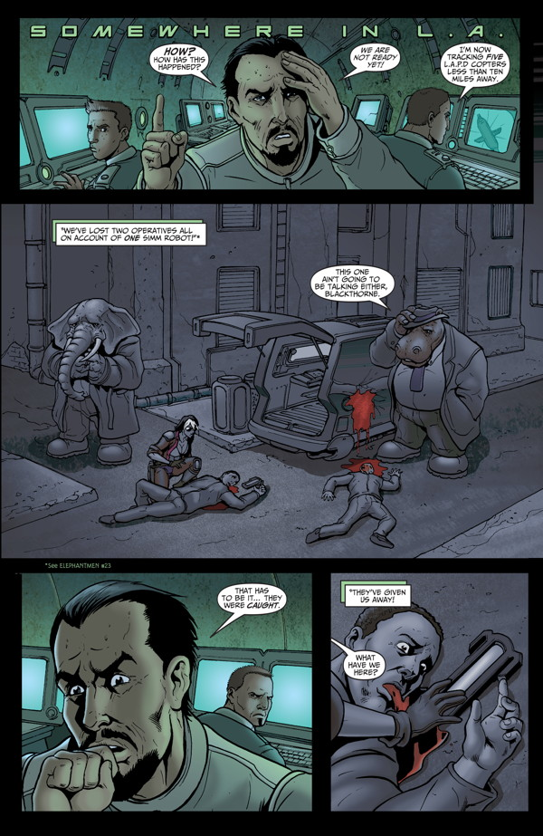 Elephantmen #27 Preview Page 9