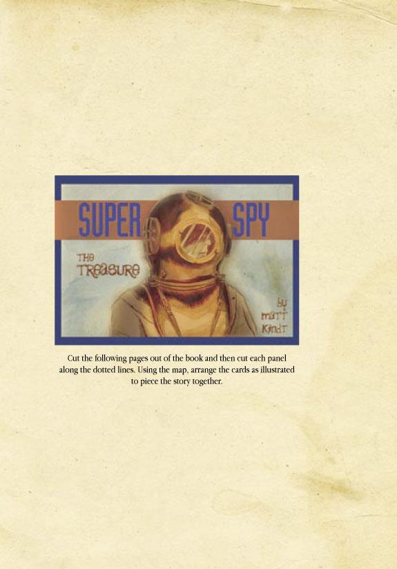 Super Spy The Lost Dossiers Matt Kindt