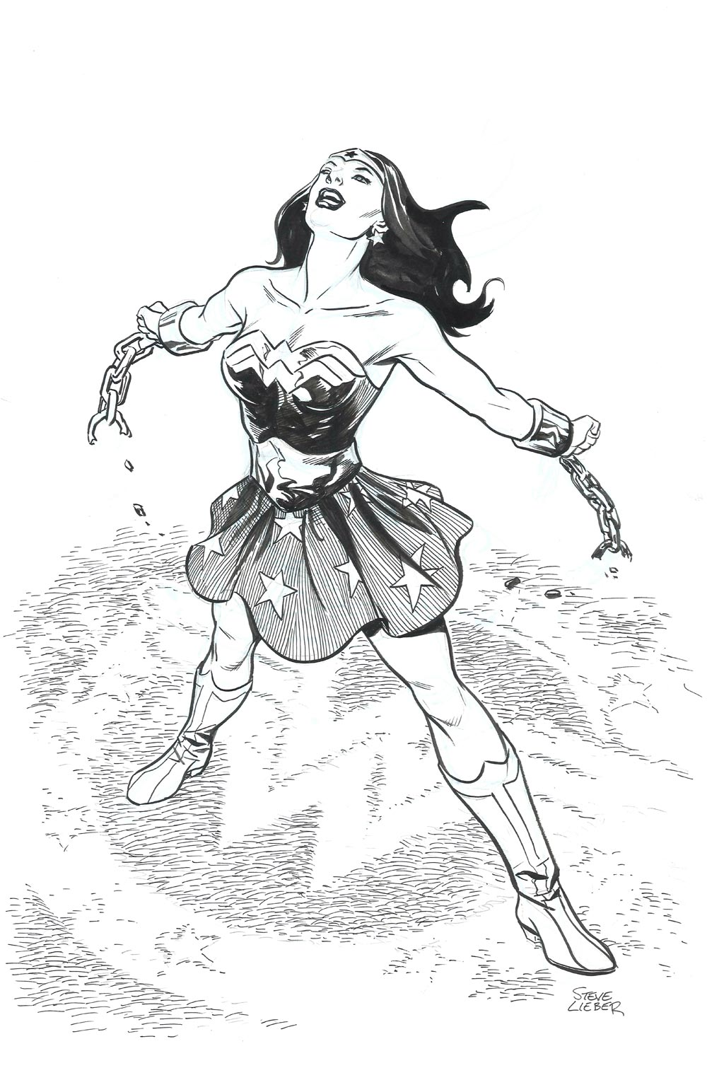 Wonder Woman by Steve Lieber