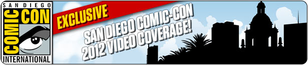 SDCC 2012 Video Coverage